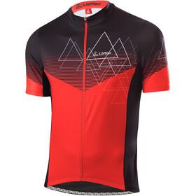 Löffler Peaks Full-Zip Bike Jersey Men, rojo
